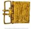 Plaque-boucle de ceinture en or : Rombach-le-Franc (68), en 1820; Cabinet des Médailles de la BnF (© M. Feugère)